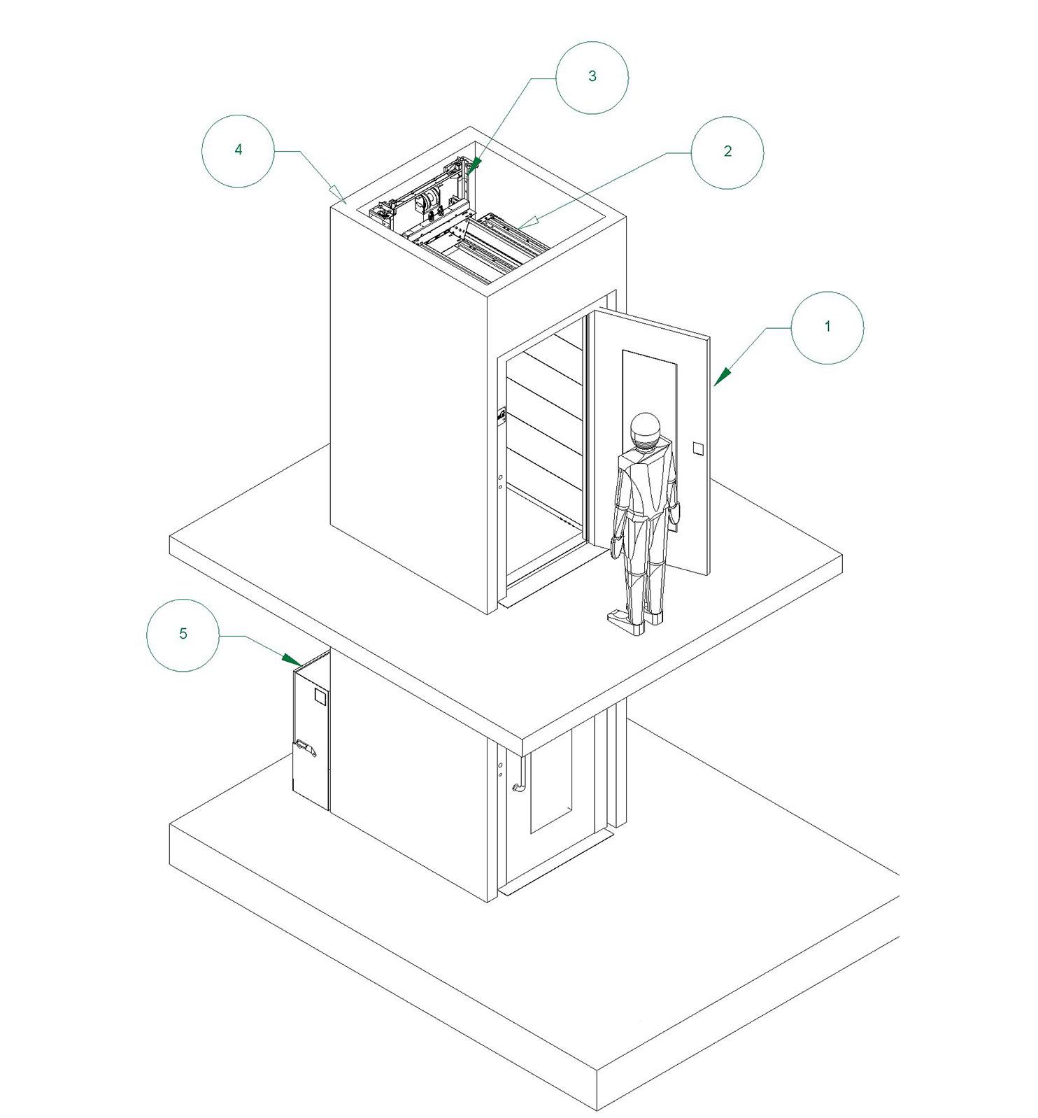 Personenlift - Huislift