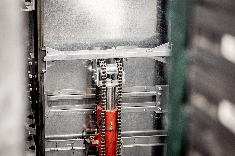 Goederenlift HB TC 1000 knoppen